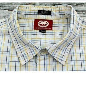 """Ecko Unltd """"The Knute"""" Woven Short Sleeve XL Shirt"""